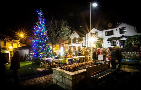 STUNNING: Dinas Powys hosted its annual Dickensian evening on Friday (Pic: Dave Bridle/DPP).