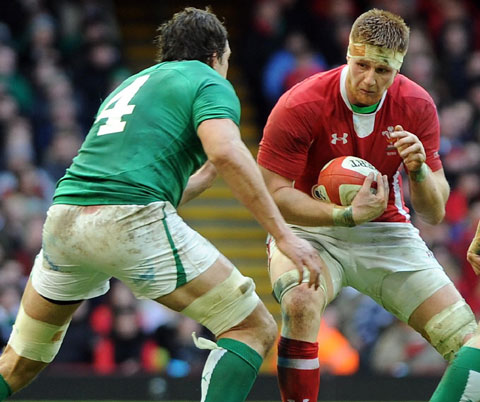 START: Dragons star Andrew Coombs faces Ireland again on Saturday