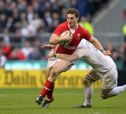 WING STAR; George North