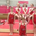 FINALISTS: The Albert Primary national gymnasts.