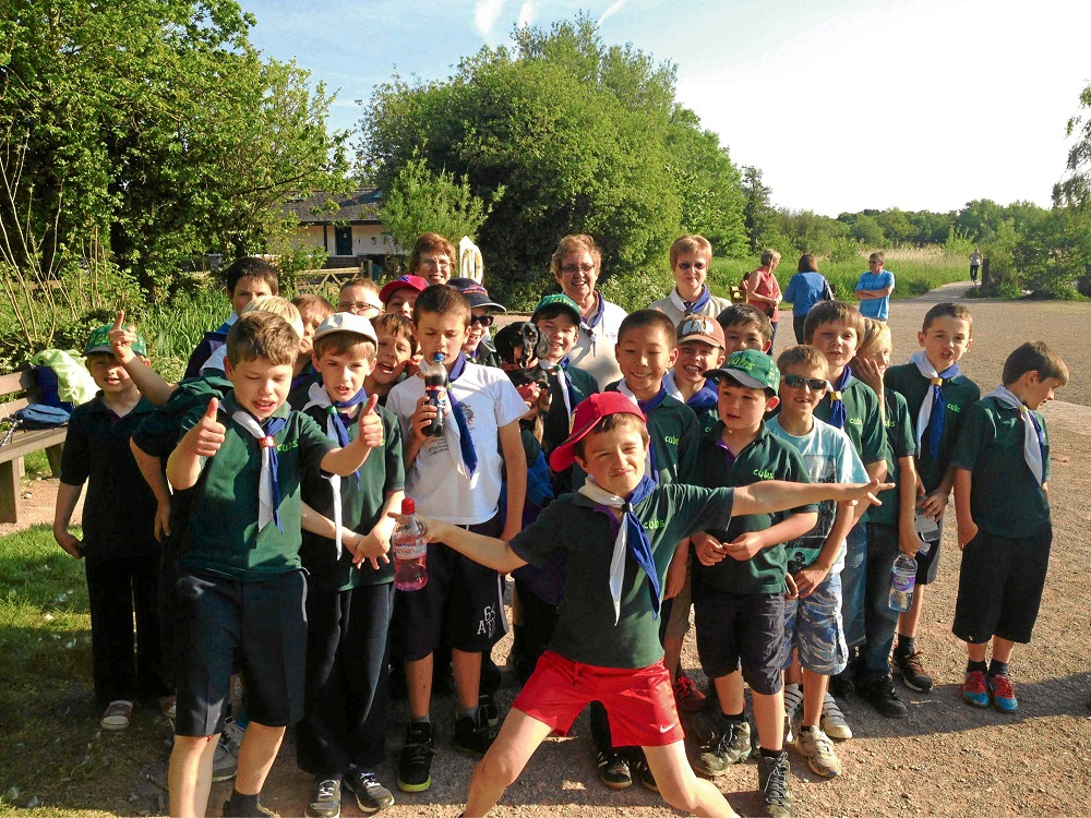 WALK: Cub Scouts at Cosmeston Lakes