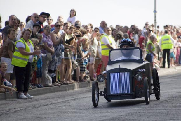 Penarth Times: DOWNHILL DERBY: This year's Downhill Derby is set to be a race instead of a time trial