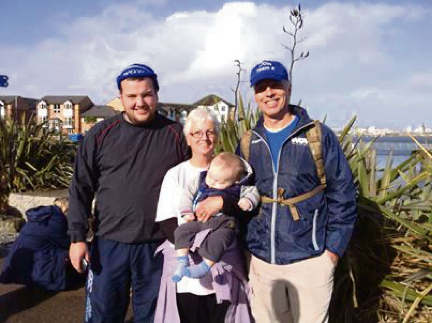 Penarth residents out in force for Walk on Wales