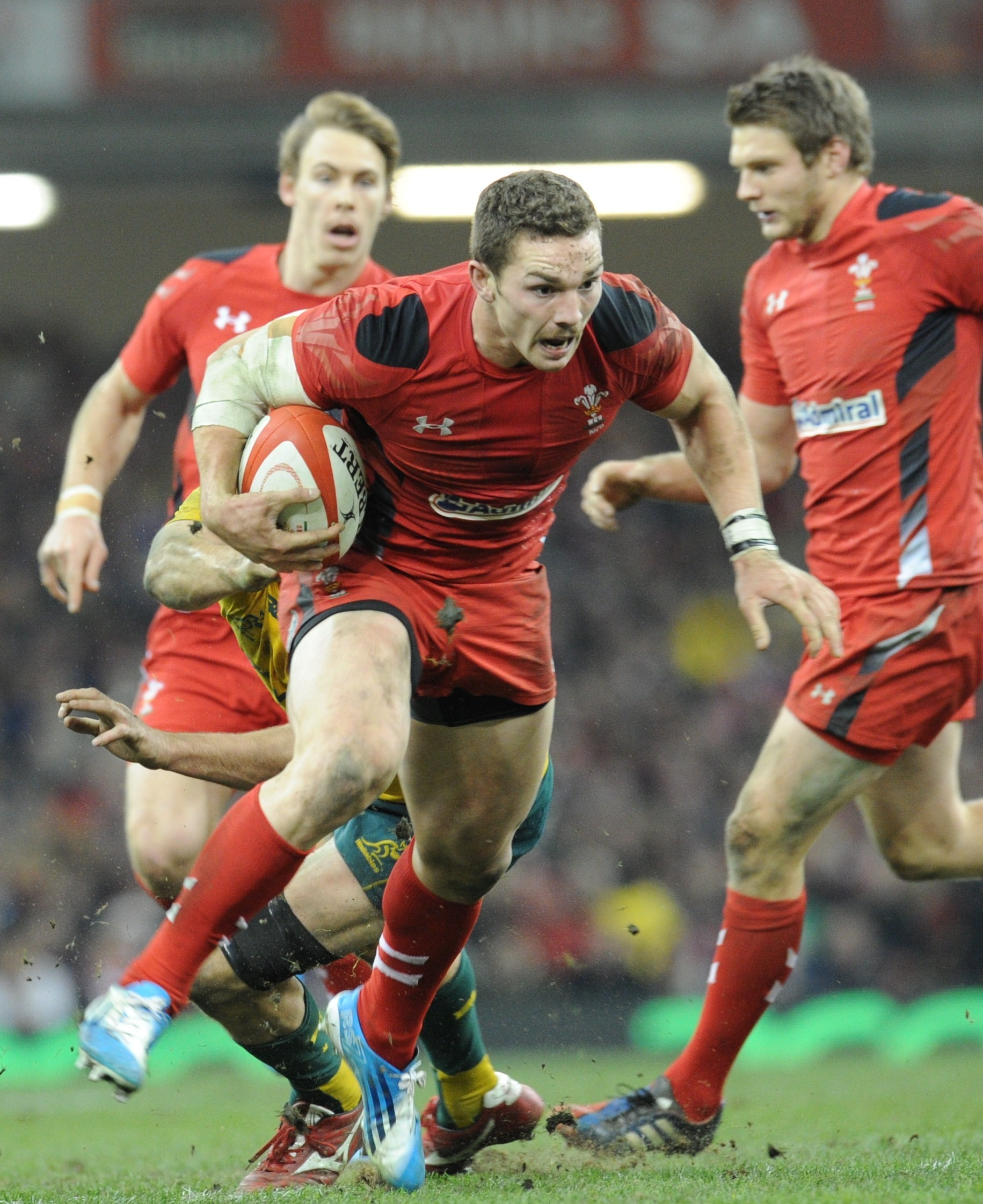 Wales' potent back line excites coach Rob Howley