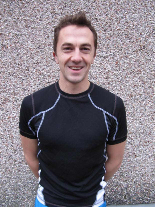 Penarth Times: TRIATHLON: Lawrence Cronk is hoping to complete the triathlon in under 10 hours (3283798)
