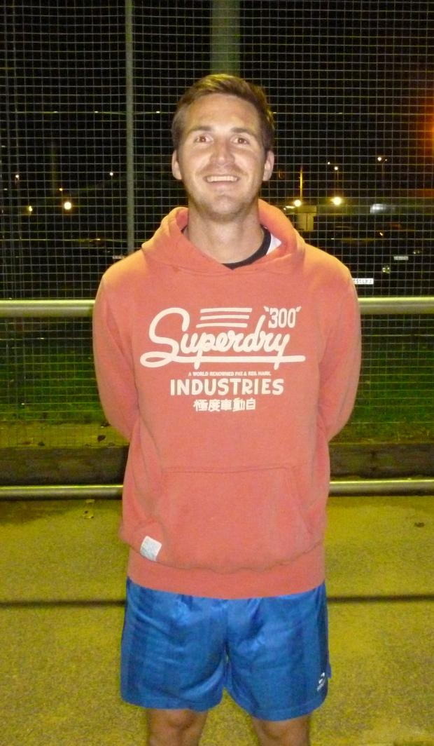 Penarth Times: STAR TURN: Liam Beddard produced a man of the match performance in Sully Sports' fine South Wales Senior Soccer League win at Fochriw.