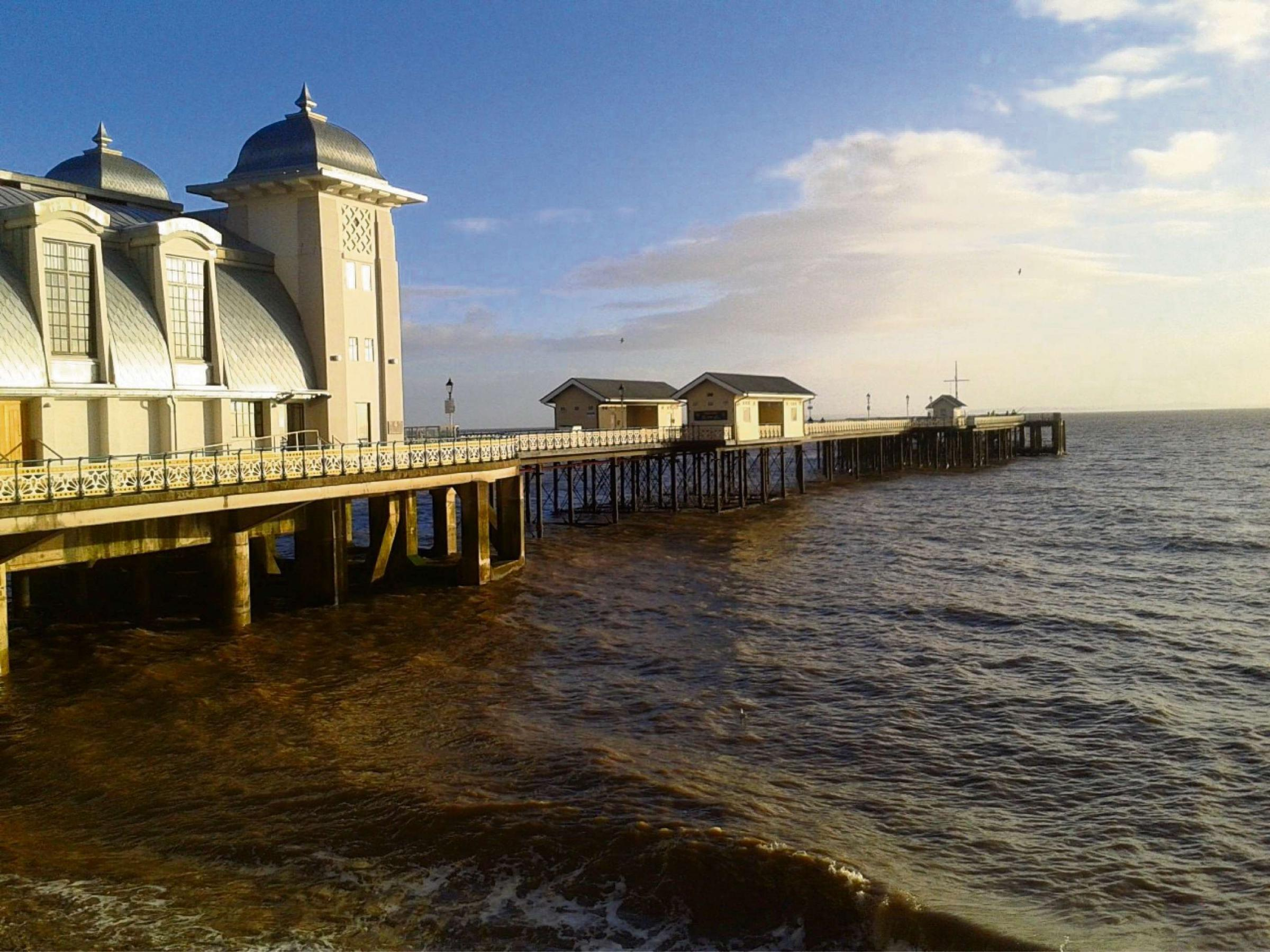 Summer sailings to return to Penarth Pier