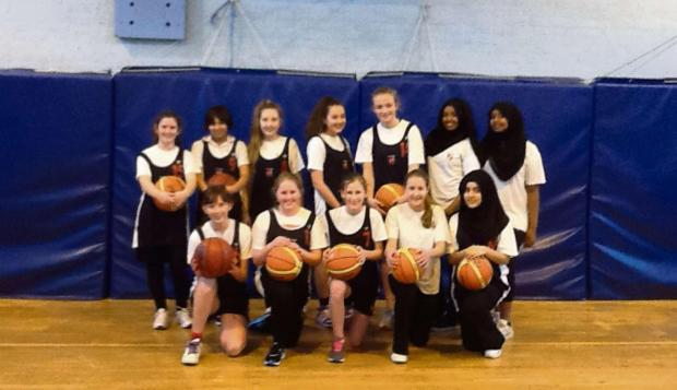 BASKETBALL: The Year 9 basketball girls team