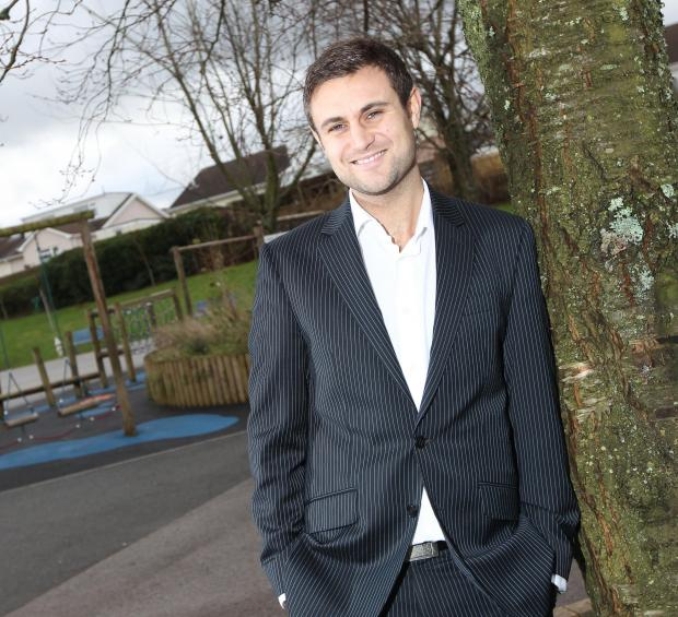 SUCCESS: Penarth's James Taylor, managing director of SuperStars
