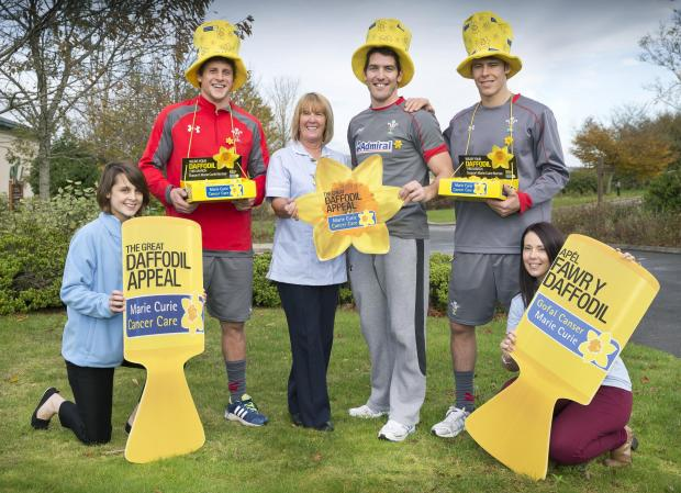 SUPPORT: The Welsh rugby team has given its backing to the Great Daffodil Appeal