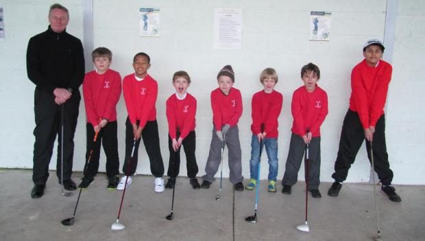 GOLFING PARTNERSHIP: Westbourne School has linked up with St Andrews Major Golf Club to offer professional coaching lessons