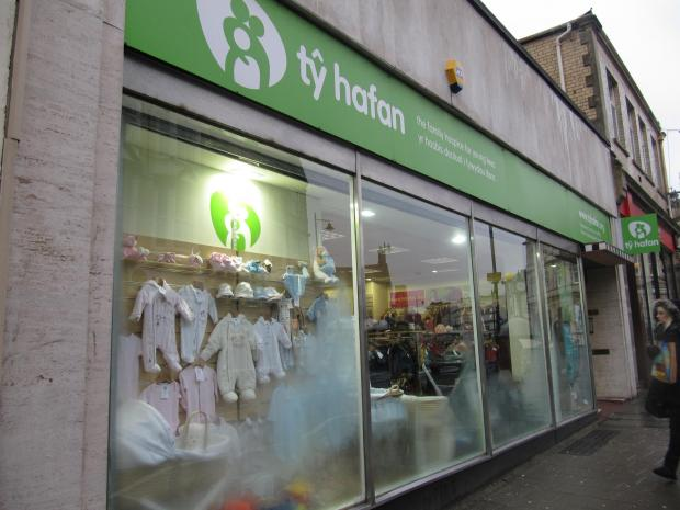 BURGLARY: Thieves stole a safe containing £500 in cash from the Ty Hafan charity shop in Penarth (3942883)