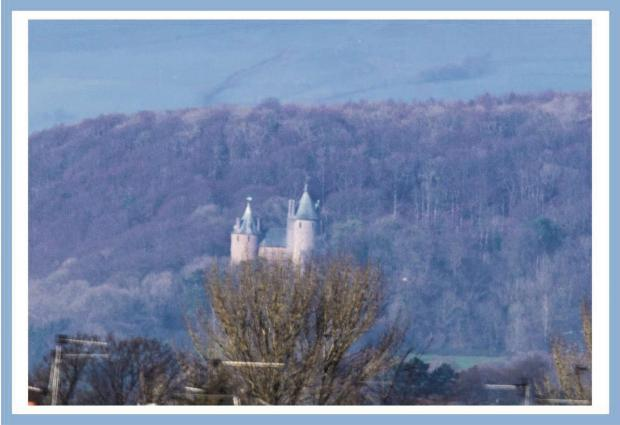 LONG DISTANCE: This amazing photograph of Castell Coch was taken from approximately nine miles away from a bedroom window in Stanwell Road, Penarth, by Penarth Times reader Stephen Jones on February 7