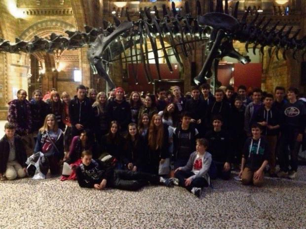 SUCCESS: Stanwell School pupils visted London for their geography trip. (4037182)