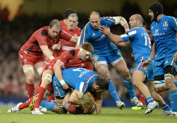 Penarth Times: Wales lock Andrew Coombs gunning for Twickenham spot
