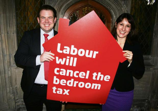 COMMITMENT: Cardiff South and Penarth MP Stephen Doughty with Shadow Work and Pensions Secretary Rachel Reeves MP.
