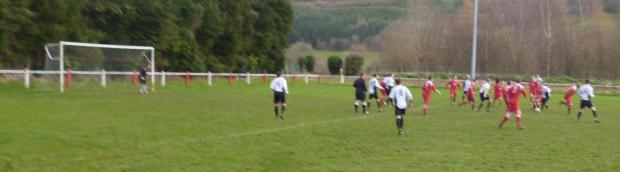 AWAY DEFEAT: Sully Sports' South Wales Soccer League championship hopes suffered a setback with a 3-2 defeat away to Brecon Corries.