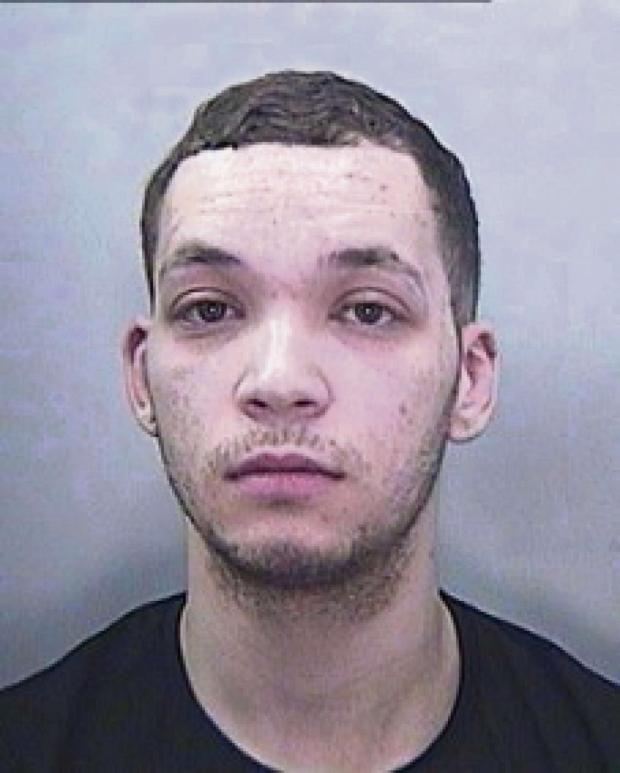 Penarth Times: WANTED: Lewis Jason Richards is wanted in connection with an assault in Penarth