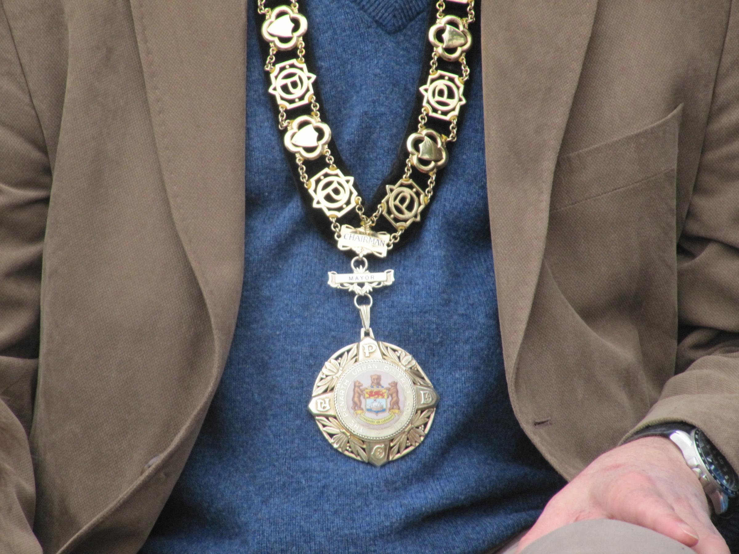 TOWN MAYOR: Councillor Martin Turner will be the Penarth Town Mayor for 2014/2015(4697284)