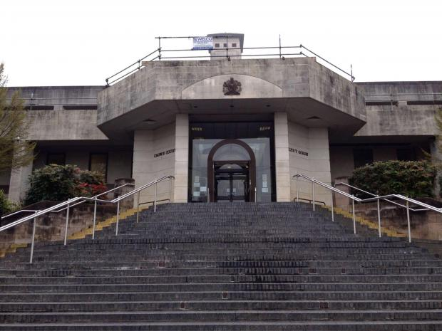 NEWPORT CROWN COURT: James Lee Harries appeared at Newport Crown Court on Tuesday, April 1 (5038027)