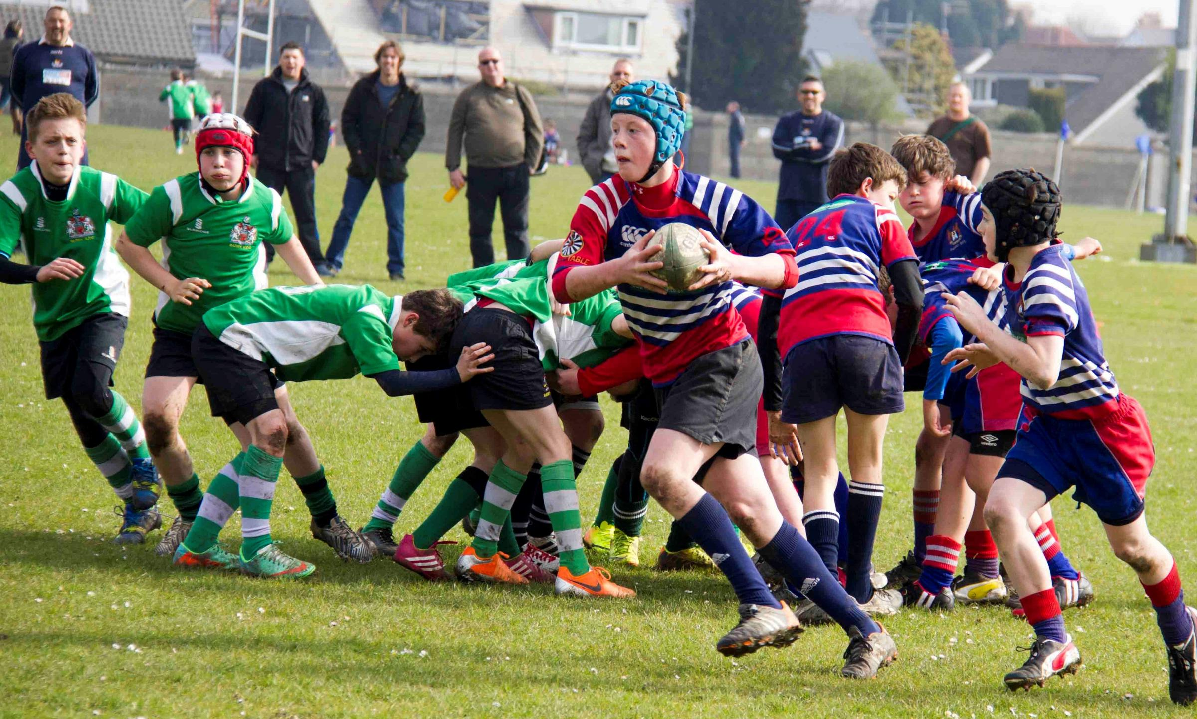 Points bonanza for U12s