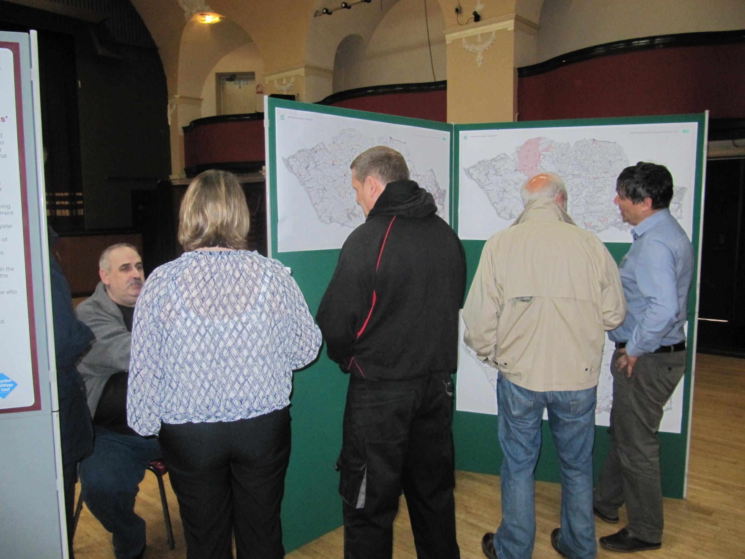 Consultation over alternative sites for LDP held in Penarth