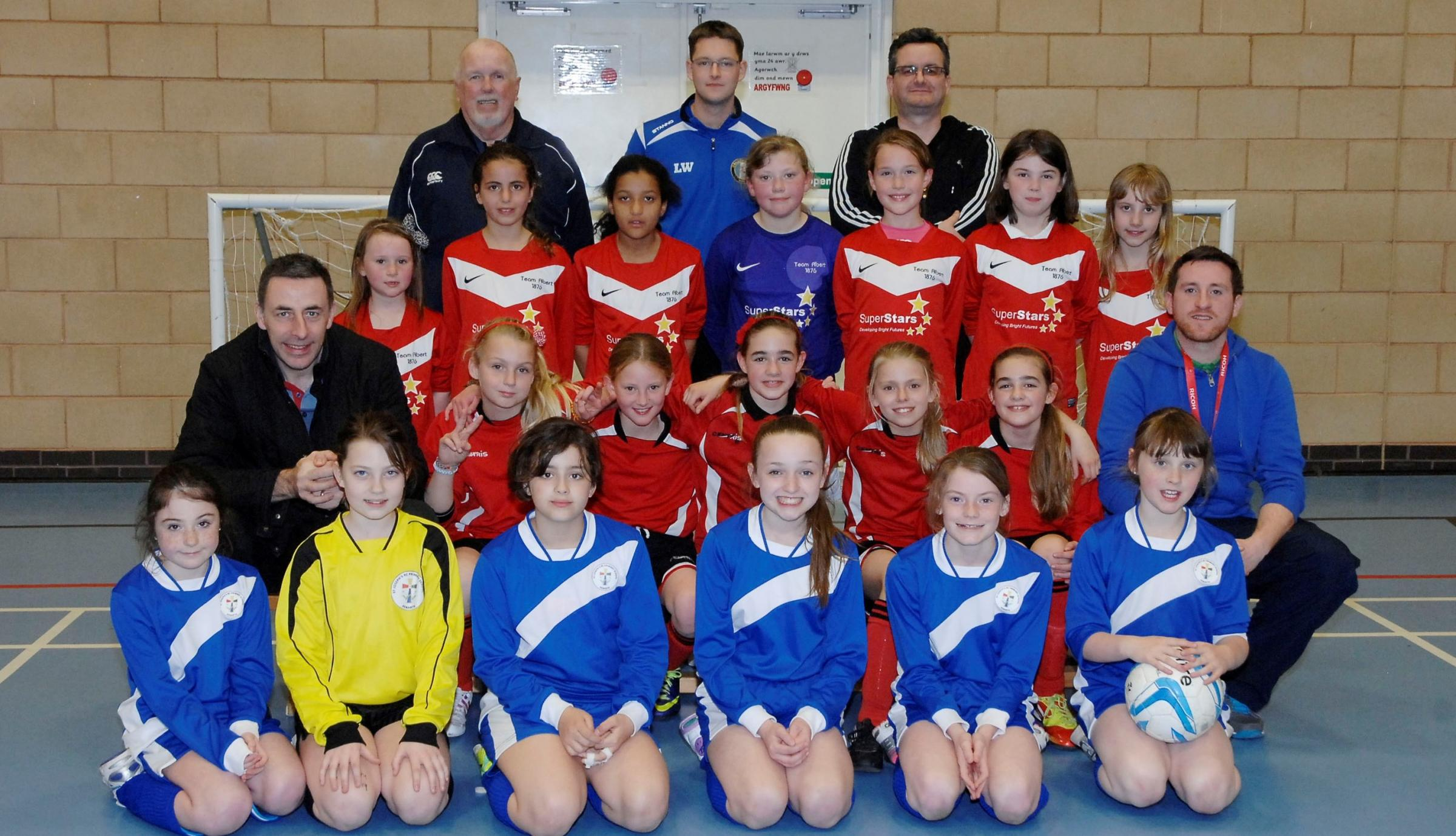 GIRLS' LEAGUE: The popularity of girls' football in the Penarth area has been boosted by a recent Primary Schools' League developed by the Vale Ladies & Girls Football Club.