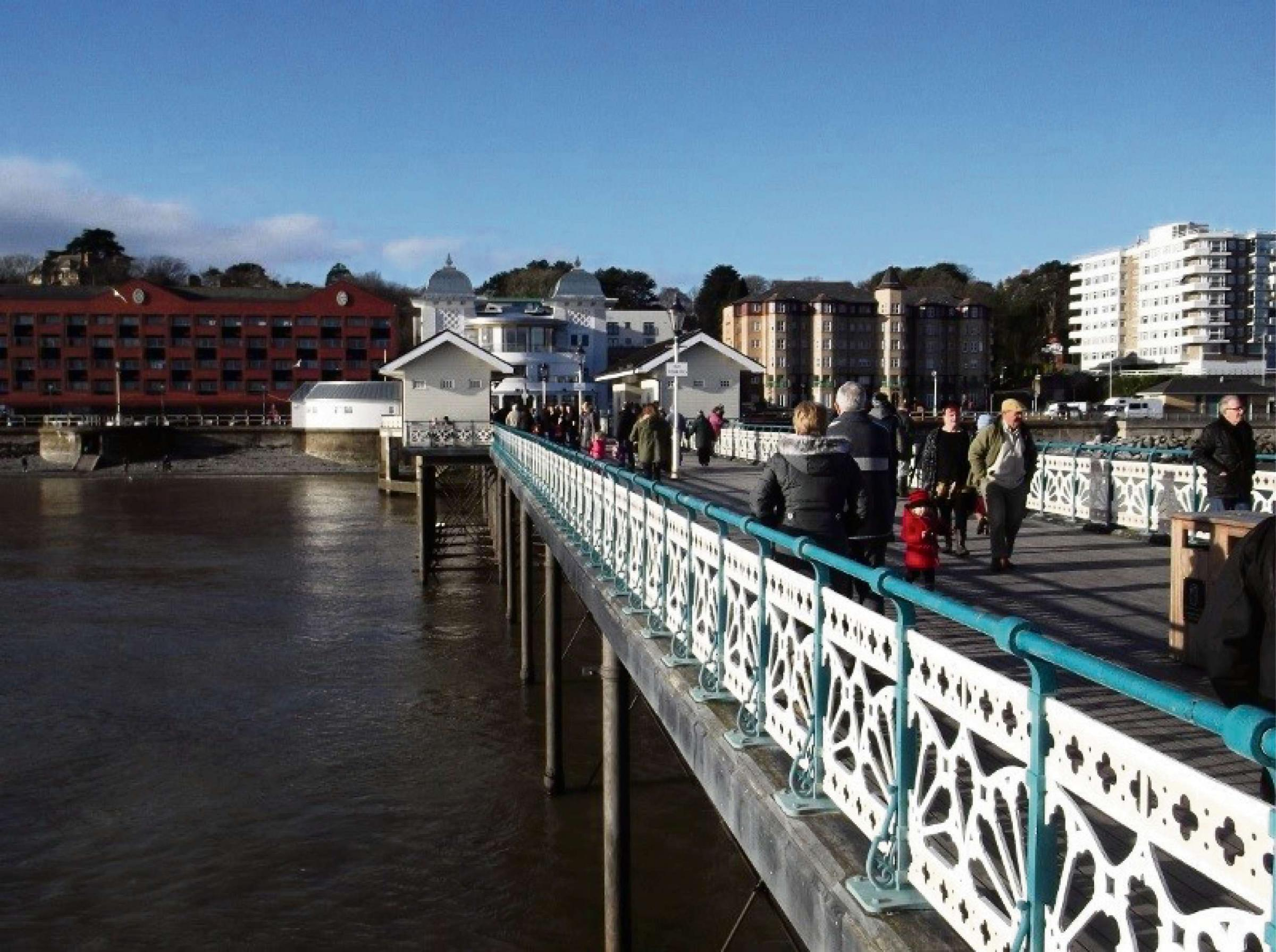 PIER: Penarth Pier has been praised by local councillors (Pic: Geoff Francis)