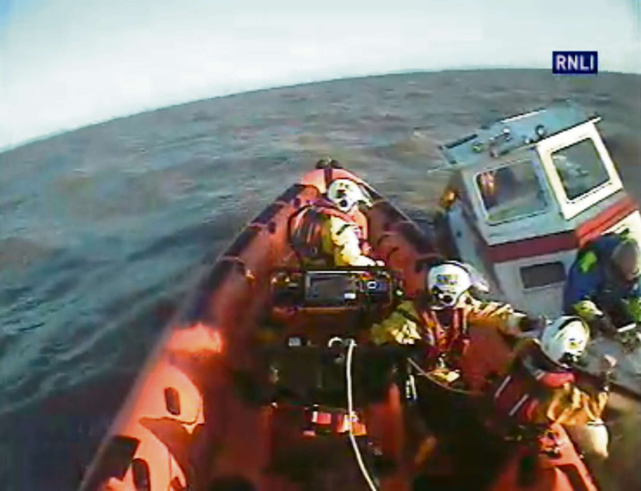 RESCUE: Footage of two Penarth RNLI rescues are now online