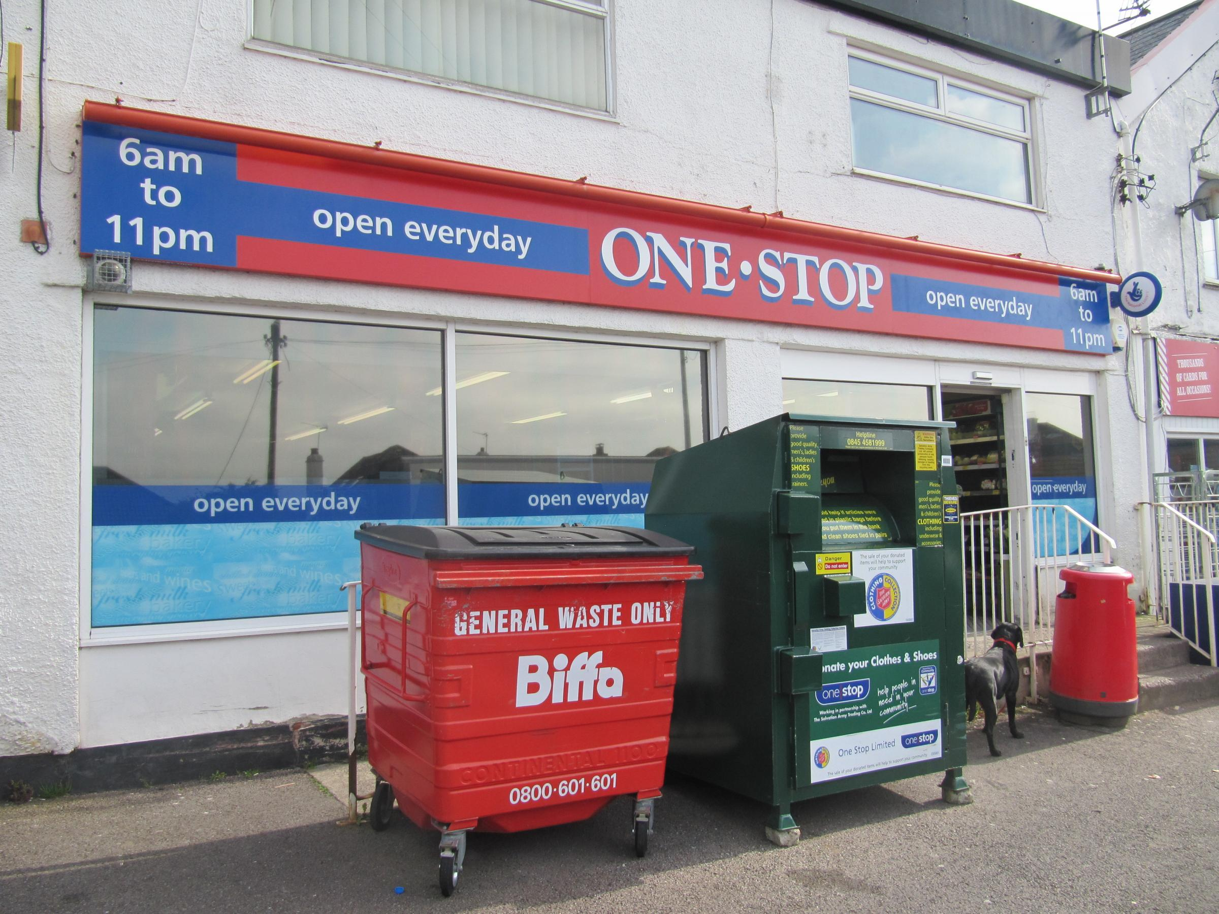 ROBBERY: The One Stop Shop was open as usual after the armed robbery on Thursday morning (5520594)