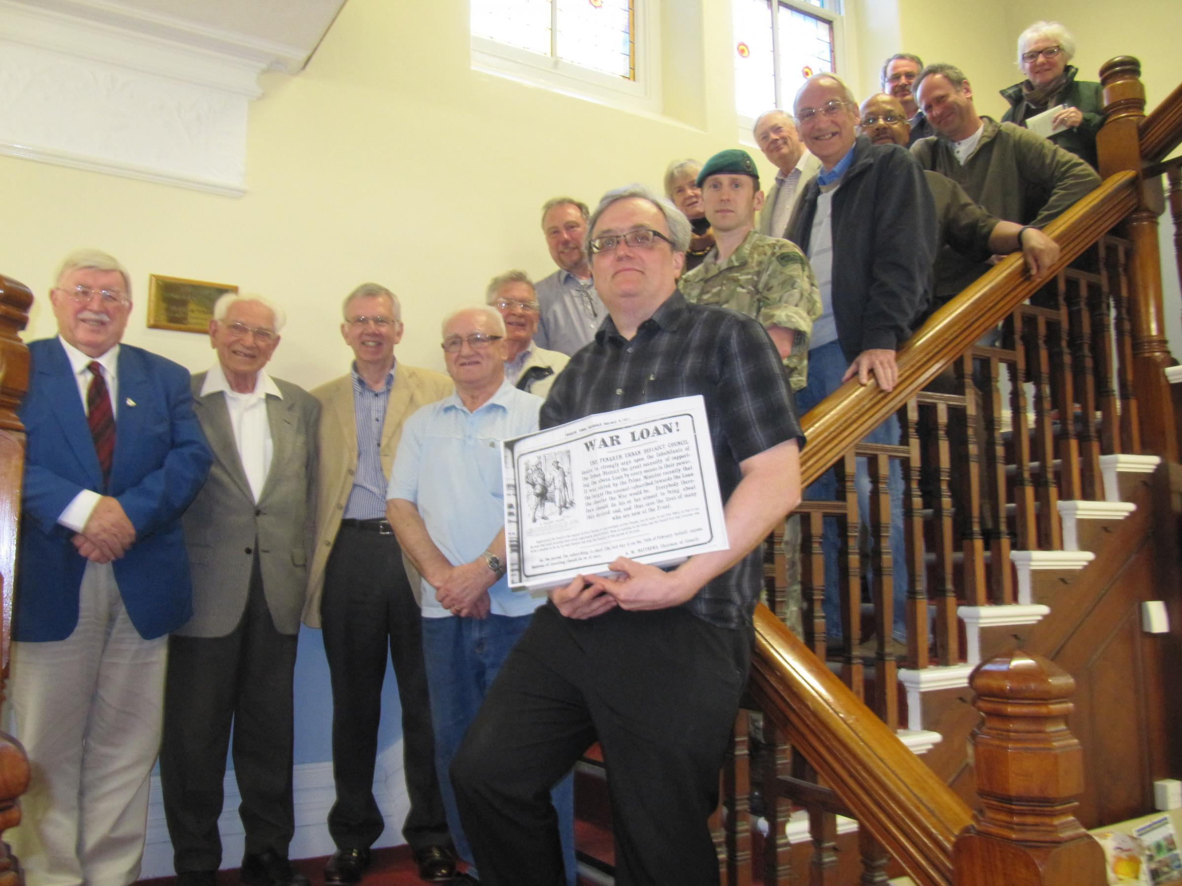 WW1 Commemorative Group set up ahead of centenary