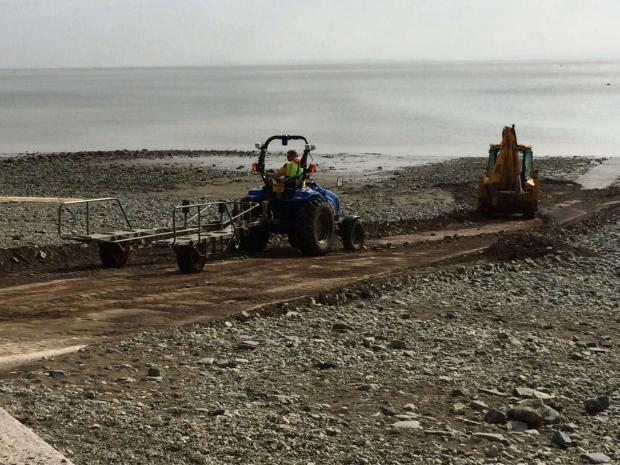 HELP: Clearance work at Penarth RNLI