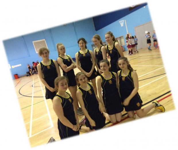 WELL DONE: Stanwell Year 7 girls netball team (5752270)