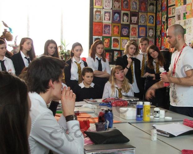 LEARNING: Nick Lord visits Stanwell School (5969278)