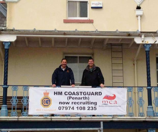 RECRUITING: Penarth Coastguard are currently appealing for new volunteers