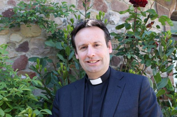 PROMOTION: Reverend Dr Mark Dimond has served at All Saints Penarth for the last two-and-a-half years