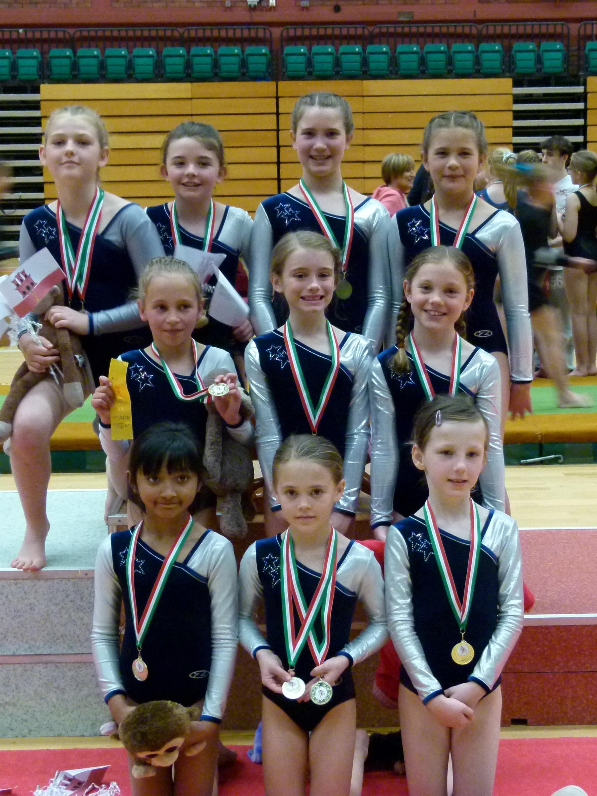 THE gymnasts of Silver Stars Gymnastics Club achieved more success during the recent National Preliminary Championships held at Sophia Gardens (6184830)