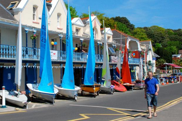 SUCCESSFUL: Penarth Yacht Club open day