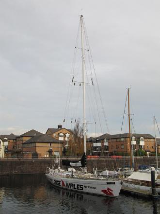SAILING CHARITY: The Challenge Wales yacht at Penarth Marina (6724858)