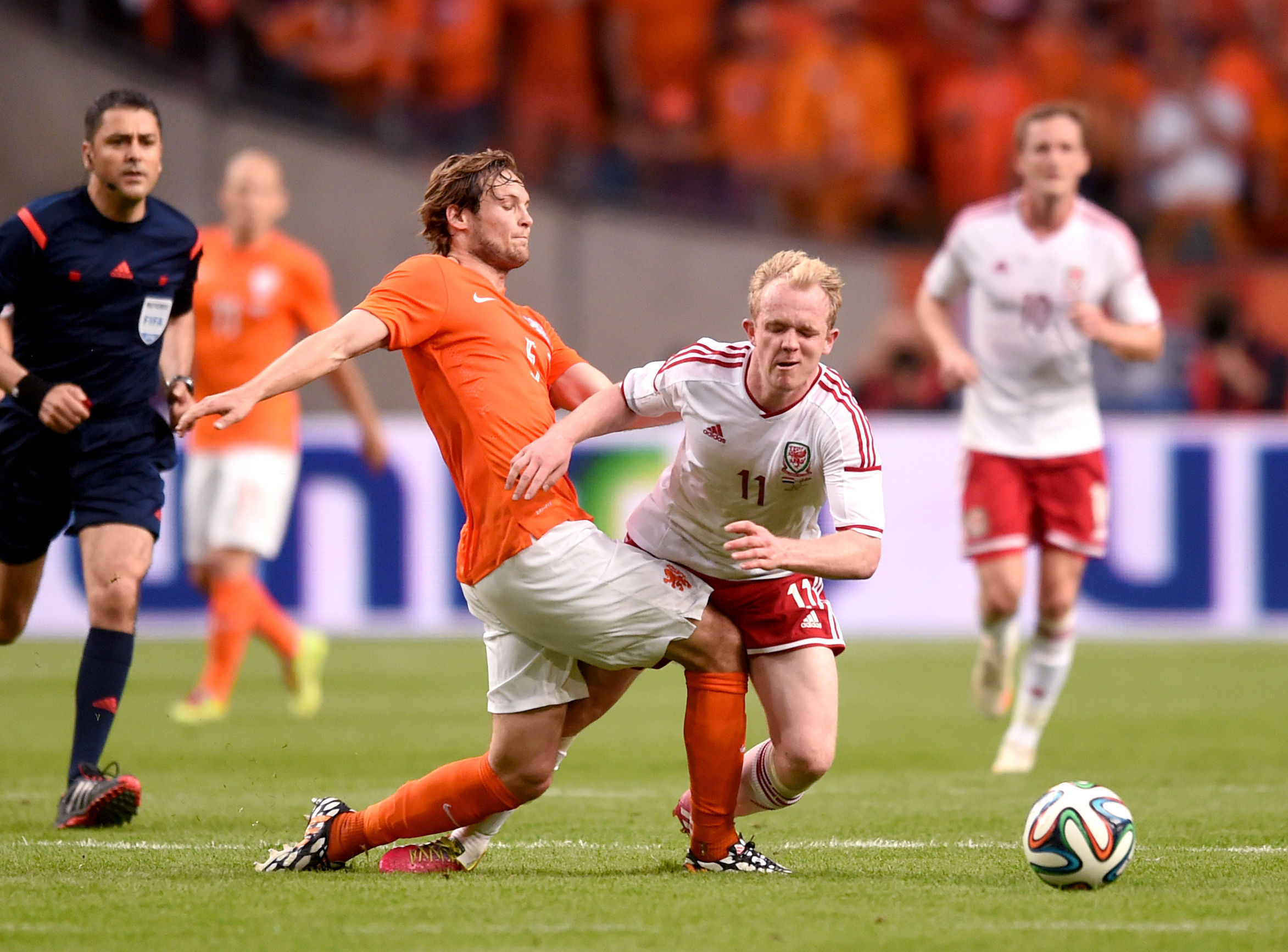 Clinical touch of the Dutch sees Wales defeated in Amsterdam
