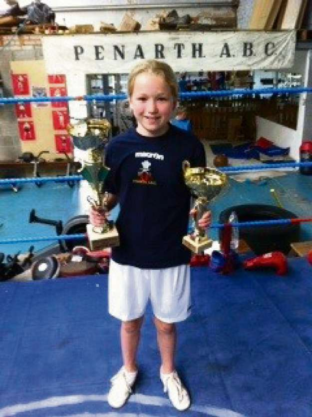 BEST BOXER: Emily Griffiths (6997456)