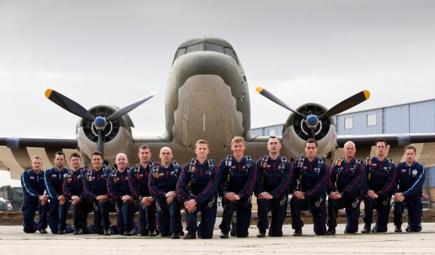 Penarth Times: DISPLAY TEAM: The RAF Falcons parachute display team will perform at Penarth Summer Festival's Carnival Day