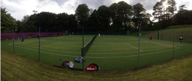 NETTING POINTS: Senior teams at the Dinas Powys Lawn Tennis Club are going from strength to strength.