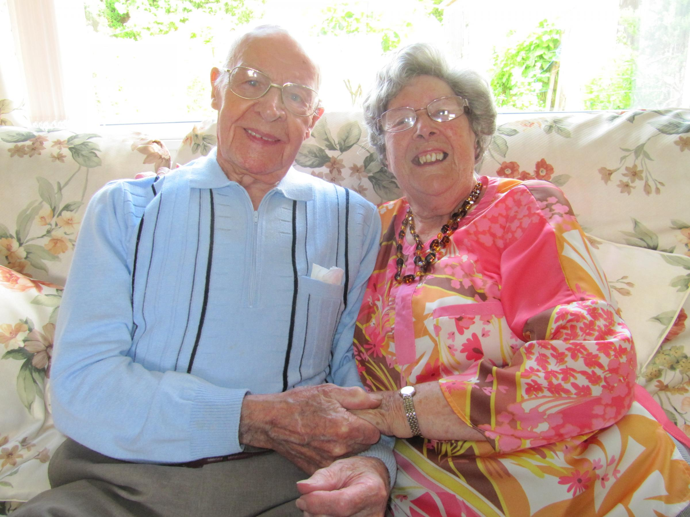 Couple due to celebrate 75 years of wedded bliss