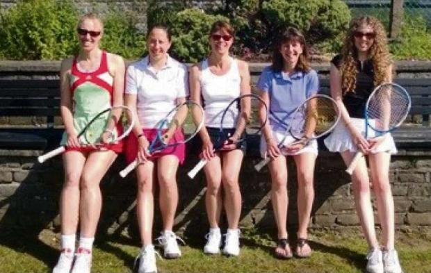 UNBEATEN: The Penarth Lawn Tennis Club's ladies' second team remain unbeaten after six games.
