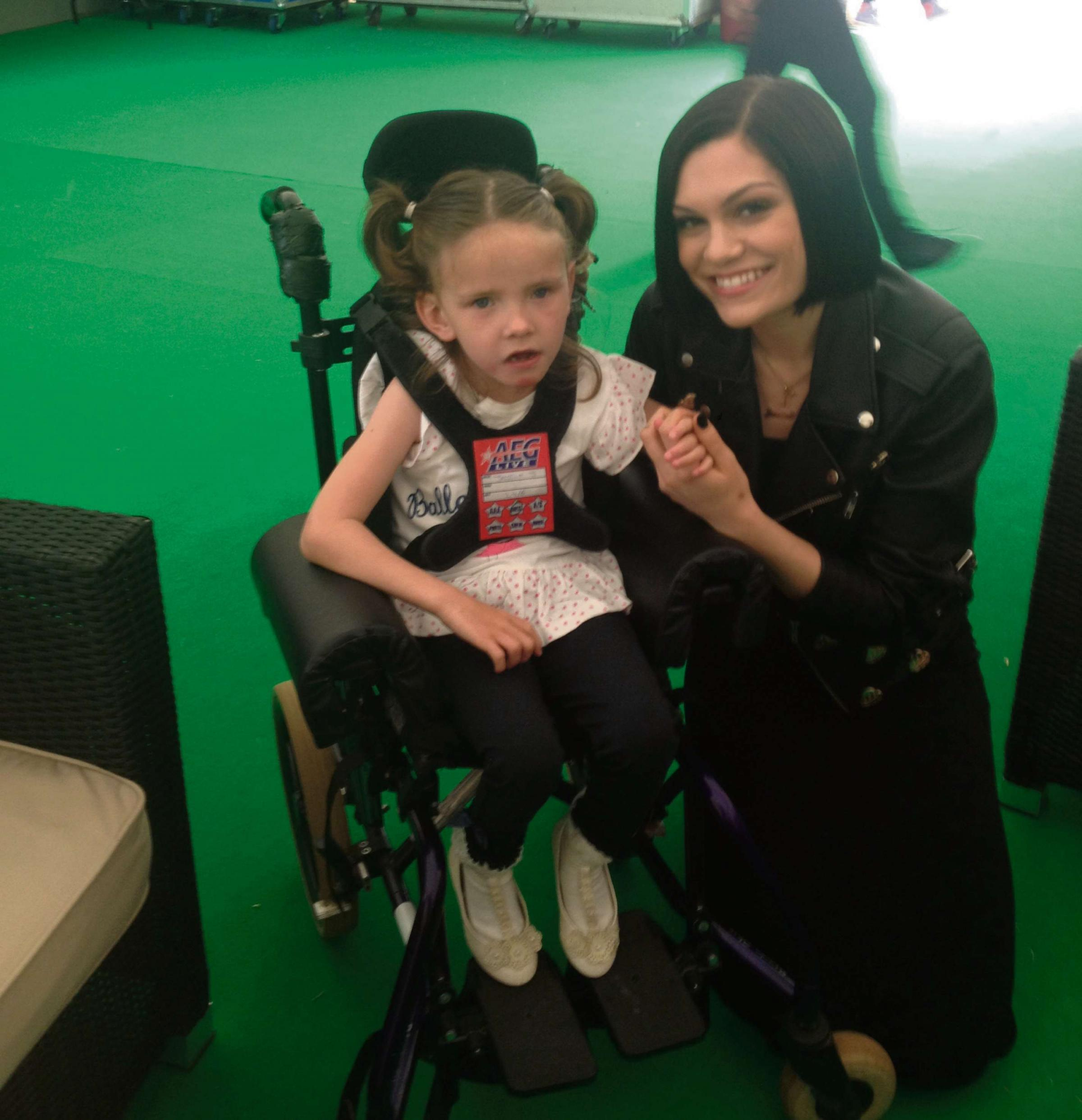 Pop star buys specially adapted bike for Penarth youngster