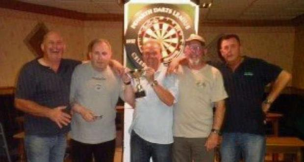 CHAMPIONS: The Ex-Servicemen's Club team - the Sparrows - have been crowed Penarth Darts League champions.