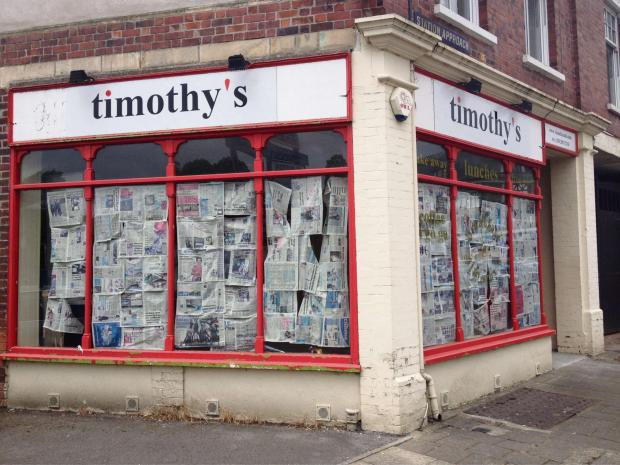 CLOSED: Timothy's cafe is based on Station Approach