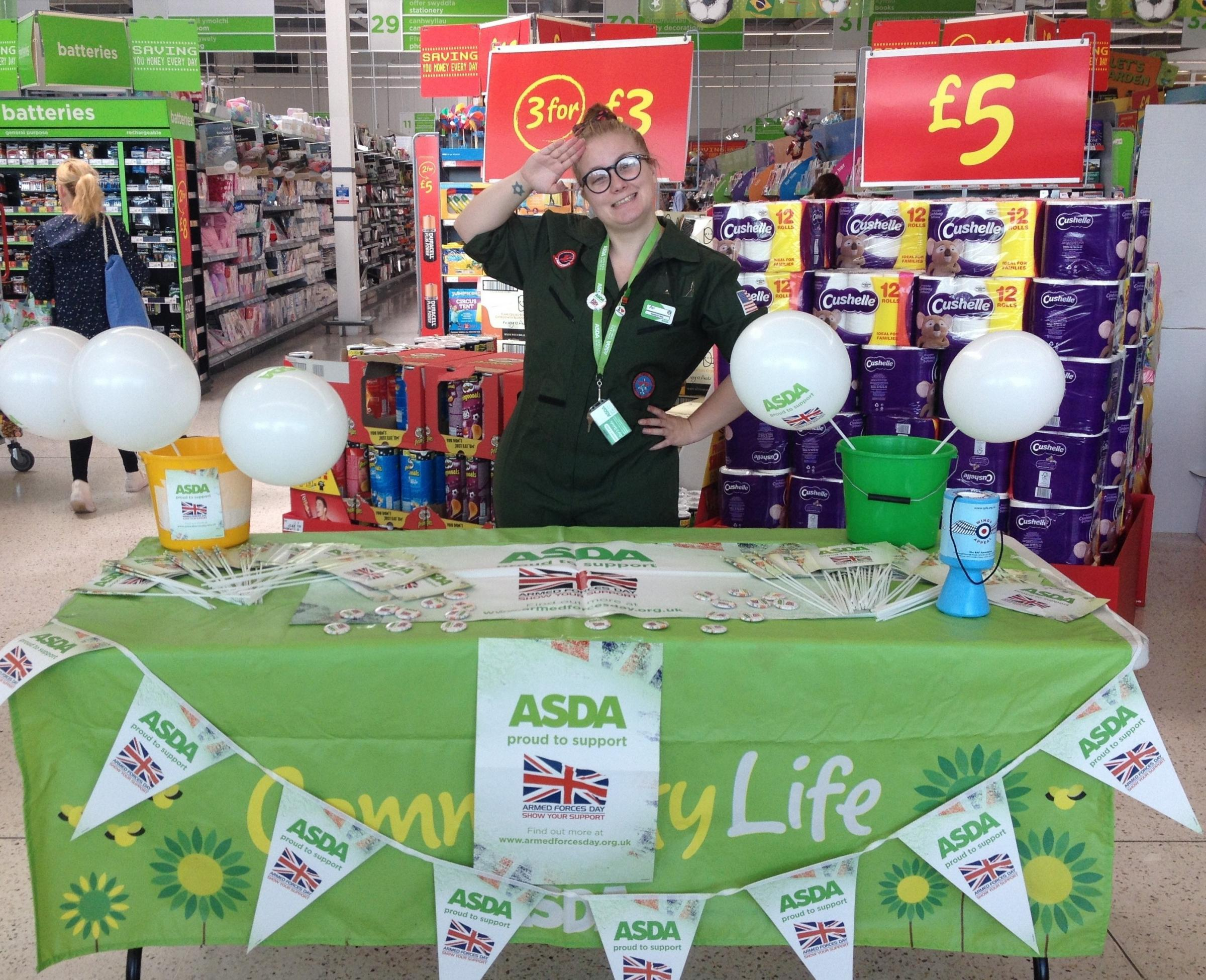 RAISING FUNDS: ASDA  (7915219)