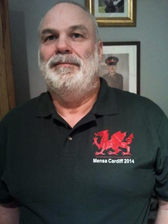 PROUD: Dinas Powys's Giles Metcalf as been elected as the new Regional Officer for Mensa in Wales